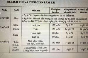 Những lưu ý trước giờ 'G' thi vào lớp 10 Hà Nội