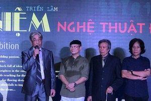 4 họa sĩ đương đại hàng đầu Việt Nam hội tụ trong triển lãm Niệm