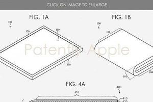 Apple tiết lộ thiết kế ban đầu của iPhone gập màn hình?