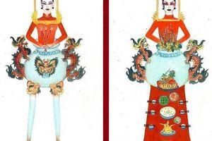 Tranh cãi nảy lửa về trang phục thiết kế lấy ý tưởng bàn thờ