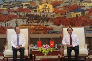 Hải Phòng sớm xây dựng tuyến bay, đường sắt cao tốc với Vân Nam