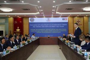 Giải pháp nào phát triển hệ thống truyền tải điện Việt Nam?