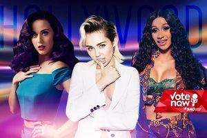 Khi 4 siêu phẩm hẹn cùng ngày ra mắt, bạn chọn ai: Cardi B, Miley Cyrus, Camila Cabello hay Katy Perry?