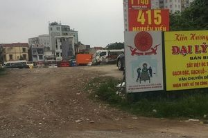 Hoàng Mai – Hà Nội: Hàng loạt bãi trông giữ xe không phép ngang nhiên hoạt động