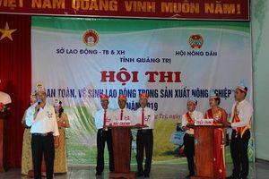 Nông dân Quảng Trị với công tác an toàn, vệ sinh lao động trong sản xuất nông nghiệp