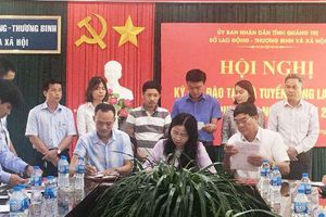 Quảng Trị: Ký kết đào tạo và tuyển dụng lao động nghề phi nông nghiệp