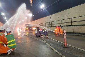 Cháy xe đột ngột trong hầm Hải Vân xử lý thế nào?