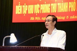 Tập huấn diễn tập khu vực phòng thủ thành phố Hà Nội năm 2019