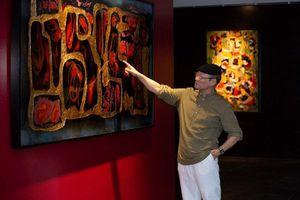 Choáng ngợp với triển lãm đồ sộ của 4 họa sỹ