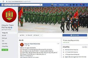 Công an Hà Nội có Fanpage