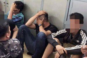Hơn 20 thanh niên phê ma túy trong vũ trường có tiếng ở Sài Gòn
