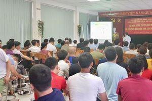 Hà Nội: Tuyên truyền chính sách BHXH cho công nhân