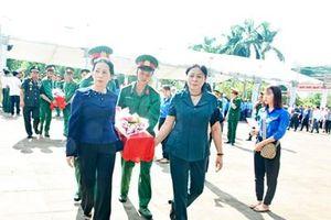 Tỉnh Gia Lai truy điệu, an táng 17 hài cốt liệt sĩ quân tình nguyện và chuyên gia Việt Nam