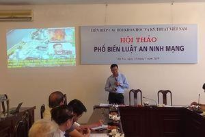 LHHVN tổ chức hội thảo phổ biến về Luật An ninh mạng