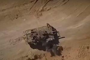 Công bố video xe tăng Israel bị máy bay không người lái tấn công bằng tên lửa
