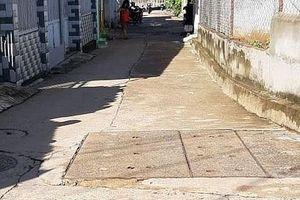 Mưa lớn, một phụ nữ bị nước cuốn tử vong giữa phố