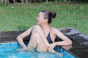 Khoe dáng nuột với bikini, Thanh Hằng gây chú ý với tạo dáng 'bá đạo'