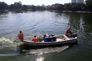 Hà Nội công bố thanh tra toàn diện chế phẩm làm sạch nước hồ
