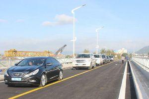 Thông xe cầu Đà Rằng mới dài nhất miền Trung