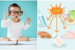 Có phải bổ sung DHA sẽ khiến bé thông minh hơn? Các chuyên gia dinh dưỡng sẽ bật mí cho bạn điều này