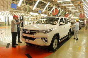 Toyota Fortuner quay lại lắp ráp tại Việt Nam