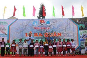 Sơn La: Ra quân Chiến dịch Thanh niên tình nguyện Hè 2019