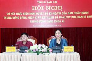 Lào Cai: Đánh giá thực hiện Nghị quyết số 33 về văn hóa và Kết luận số 29 về mua, đọc báo, tạp chí của Đảng
