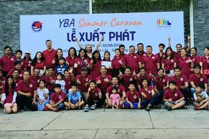 Hội Doanh nhân trẻ TP.HCM khởi động hành trình tặng Thư viện Container cho học sinh nghèo