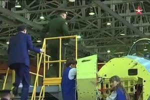 'Đột nhập' nơi Nga đang sản xuất hàng loạt 'bóng ma' Su-57
