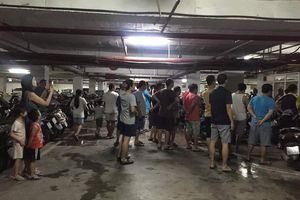 Hà Nội: Cháy ở tầng hầm chung cư Hapulico, người dân bức xúc vì chuông báo không hoạt động