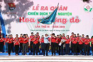 Hơn 40.000 chiến sĩ tham gia chiến dịch tình nguyện Hoa phượng đỏ 2019