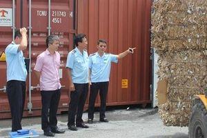 Sẽ buộc tái xuất container rác phế liệu không đạt chuẩn