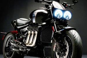 Mãn nhãn trước vẻ đẹp đầy dũng mãnh của 2020 Triumph Rocket 3 TFC