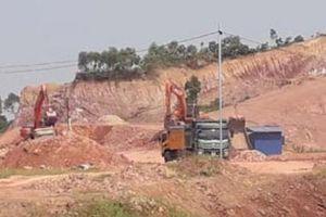 Thái Nguyên: Dân khốn khổ vì Cty Leadertec khai thác đất trái phép