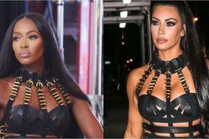 Kim Kardashian: Tưởng sành điệu hóa ra cũng chỉ... chuyên copy!