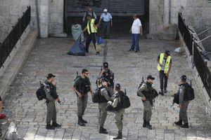 Tấn công bằng dao tại Jerusalem