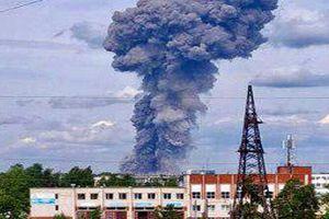 Kinh hoàng nổ nhà máy tại Nga, hàng chục người bị thương