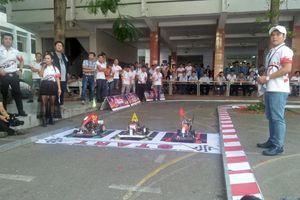 Thú vị cuộc thi 'Mini Car Racing 2019' dành cho sinh viên
