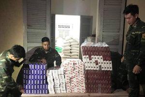 Liên tiếp bắt giữ hai vụ buôn lậu thuốc lá ngoại