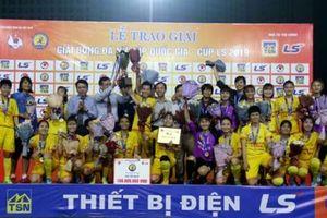 Thắng sát nút nữ Hà Nội, nữ Phong Phú Hà Nam vô địch Cup Quốc Gia - Cup LS 2019