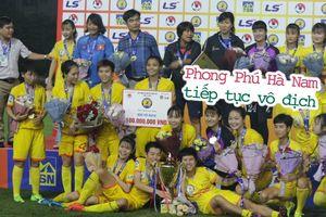 Phong Phú Hà Nam lên ngôi vô địch giải nữ cúp Quốc gia