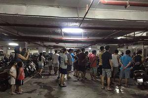 Hà Nội: Chung cư Hapulico cháy ở tầng hầm, cư dân hoảng loạn
