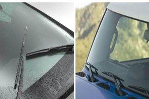 Cần gạt nước ô tô nhanh hỏng gây mất an toàn, nguyên nhân từ sai lầm của tài xế