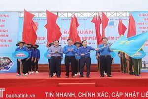 Tuổi trẻ Hà Tĩnh sôi nổi ra quân chiến dịch tình nguyện hè 2019