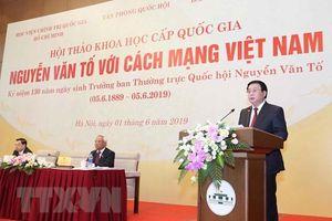 'Nguyễn Văn Tố với cách mạng Việt Nam'