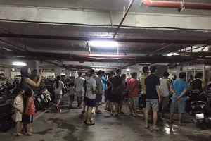 Cháy tầng hầm chung cư Hapulico: Người dân bức xúc vì không có báo cháy