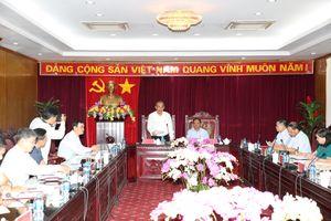 Phó Thủ tướng Thường trực làm việc với lãnh đạo chủ chốt tỉnh Bắc Kạn