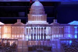 Chùa Một Cột, nhà Quốc hội Mỹ và những mô hình bằng tăm đẹp xuất sắc
