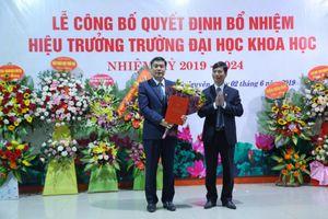 Bổ nhiệm Hiệu trưởng Trường ĐH Khoa học - ĐH Thái Nguyên