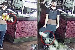 'Tai nạn' của chàng bartender khiến cư dân mạng cười chảy nước mắt